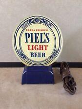 Vintage Piel's Light Beer N.Y. Light-up Sign