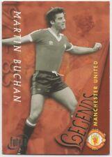 #38-MARTIN BUCHAN-1997 MANCHESTER UNITED-MAN UTD-LEGENDS-FUTERA TRADE CARD
