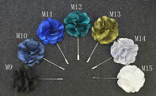 Buy 2 get 1 free stylish quality lapel flower mens suit brooch pin B no M12