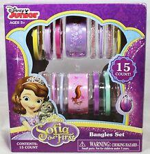 Disney Junior Sofia the First Bangles Set - 15 Count