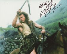 Mel Gibson Braveheart Mad Max signed 8x10 photo auto autograph not PSA JSA