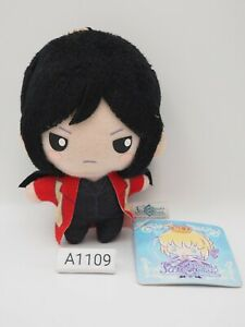 """Fate Grand Order A1109 X Sanrio Zhuge Kongming keychain Plush 4"""" Toy Doll Japan"""