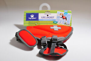NEW Top Paw Neoprene Dog Life Jacket Vest Size Small 15-30 lbs