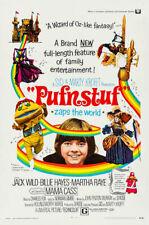 PUFNSTUF (Jack Wild/Martha Raye) film poster - glossy A4 print