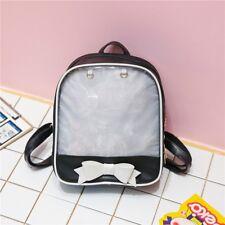 Clear ITA Bag Transparent Itabag Pin Display Backpack School Bags Kids Backpack
