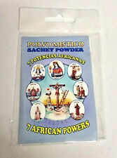 7 African Powers Sachet Powder, Mistic Products, 1/2 oz Polvo Potencia Africanas