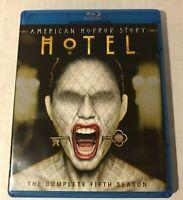 AHS American Horror Story Hotel Compete Fifth Season 3-Disc Blu-Ray Lady Gaga