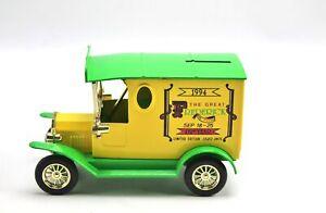 1994 The Great Frederick Fair Diecast Car Bank Golden Wheel 1:25 1994