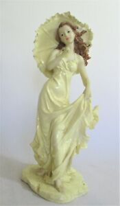 Resin Figurine of a Lady with a Parasol