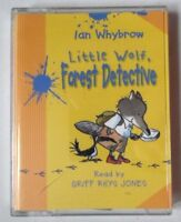 LITTLE WOLF FOREST DETECTIVE IAN WHYBROW AUDIO CASSETTE READ BY GRIFF RHYS JONES
