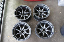 "JDM 15"" MX5 mx-5 miata eunos pcd100x4 civic integra Banana wheels rims watanabe"