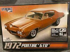 MPC 1/25 '72 Pontiac GTO Model  Kit MPC-711 (Sealed)