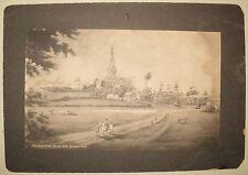 ANTIQUE 1900's POST CARD WOLSTANTON TRENT BRIDGE PUBLISHING UK UNITED KINGDOM