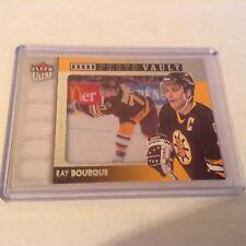 14-15 2014-15 ULTRA RAY BOURQUE PHOTO VAULT PV-RB BOSTON BRUINS