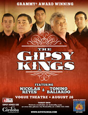 GIPSY KINGS 2016 VANCOUVER CONCERT TOUR POSTER - Catalan Rumba, Pop Music