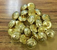 Vintage 25 French NAVY Army Military uniform buttons PARIS