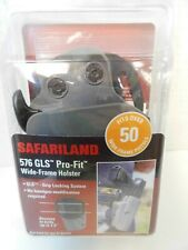 "NEW SAFARILAND 576 GLS WIDE FRAME HOLSTER 1.5"" BELTS  9mm .40 .45 BERETTA RIGHT"