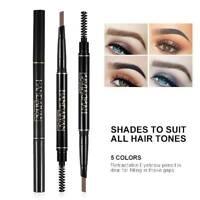 Eyebrow Tattoo Pen Twist Up Eye Brow Eyeliner Pen Pencil Eyebrow Marker+Brush