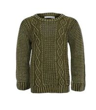 MINOTI BOYS CABLE KNIT JUMPER *100% COTTON* *SIZES 8-9 Years to 12-13 Years *