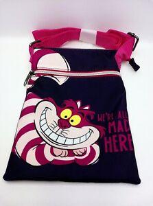 Loungefly Disney Alice In Wonderland Cheshire Cat Passport Crossbody Bag
