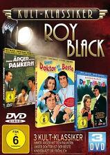 Kultklassiker ROY BLACK Doktor PAUKER Kinderarzt USCHI GLAS Eddi Arent 3 DVD Box