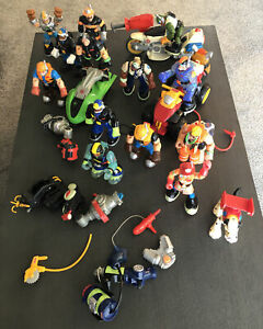 Rescue Heroes Mattel Fisher Price 1998-2004 Action Figures & Accessories Lot 13