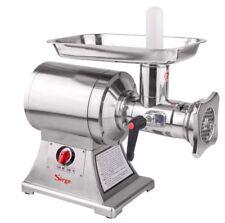 Tritacarne elettrico professionale INOX 1Hp - 750W MACCHINA macinacarne 250 kg/h