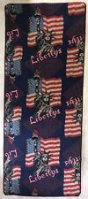 Vintage Rug / Liberty's / New York / 7ft 3 X 3ft / Super Cool / America 80s 90s