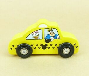 Melissa & Doug Wooden Car Taxi Walt Disney Mickey Mouse Taxi #7533 ZB17095