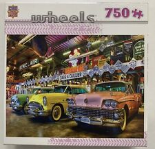 1950s BUICK AUTOMOBILES LINDA BERMAN JIGSAW PUZZLE, MASTERPIECES. 750 PIECES