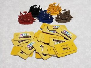 5 Game of Life Pirates of the Caribbean Dead Mans Chest Replacement Ship Tokens