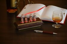 """Bohemia"" Wood Retro Nixie Tube Clock IN-14 OAK (Cabernet) RED LED"