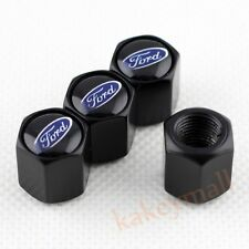 4X Car Wheel Tyre Tire Valve Stem Caps Air Hat Cover Trim For Ford Emblem Model