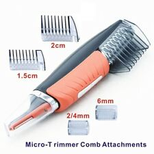 Micro Precision Eyebrow Personal Electric LED Light Face Care Remover Trimmer