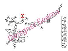 BMW SERIE 1' E81 E87 & LCI Paraurti posteriore GUIDA A DESTRA