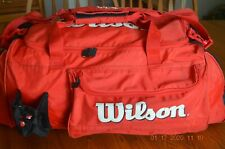 Tennis Gym Bag, Wilson Tour, Red and Black
