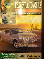 REVUE TECHNIQUE RENAULT MEGANE II COUPE CABRIOLET ETC.. essence et diesel