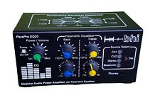 bhi ParaPro EQ20 20W Modular Audio Power Amplifier with Parametric Equaliser