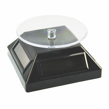 À énergie Solaire Rotatif Bijoux Téléphone Mobile Anneau Bracelet Display Stand
