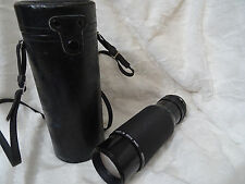 Canon FD 100-300mm f5.6 manual focus zoom lens. Adaptable to digital Sony fuji