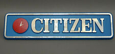 CITIZEN Watch Jewelry Shop Display Advertising Aluminum Sign