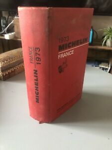 Ancien Guide Rouge Michelin 1973 France