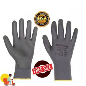 Hand Gloves One Pair Rubber Coated Garden Glove High Quality Long Durability Fre