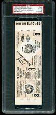 PSA Ticket Baseball World Series 1968 Detroit Tigers Cardinals Full Proof GM 3