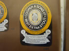 VINTAGE AUS BEER LABEL. COOPERS & SONS BEST EXTRA STOUT 750 ML #3