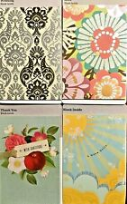 Hallmark Blank Greeting Cards -Blank Note Cards - Pacs of 4 different Designs