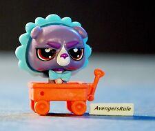 Littlest Pet Shop Pet Hideouts Series 1 #3873 Bulldog Purple