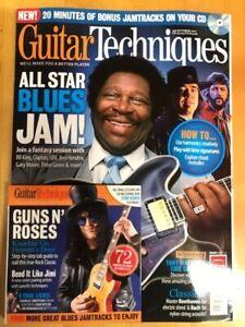 Guitar Techniques Magazine & CD: October 2011