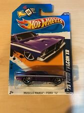 1973 73 FORD FALCON XB 12 2012 PURPLE 120 MUSCLE MANIA HW HOT WHEELS