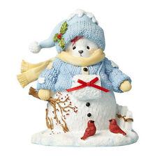 Cherished Teddies 'Share In Winter's Wonders' 2017 Snowbear Figure 4059138
